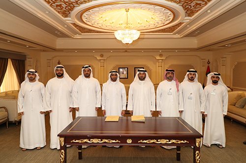 Signing a cooperation agreement with the Sharjah Center for Investors Service